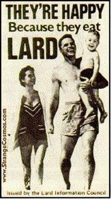 Happy Lard Poster