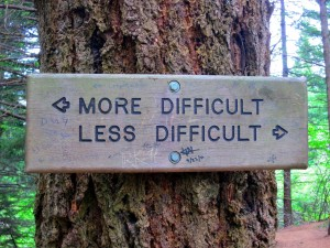More or Less Difficult