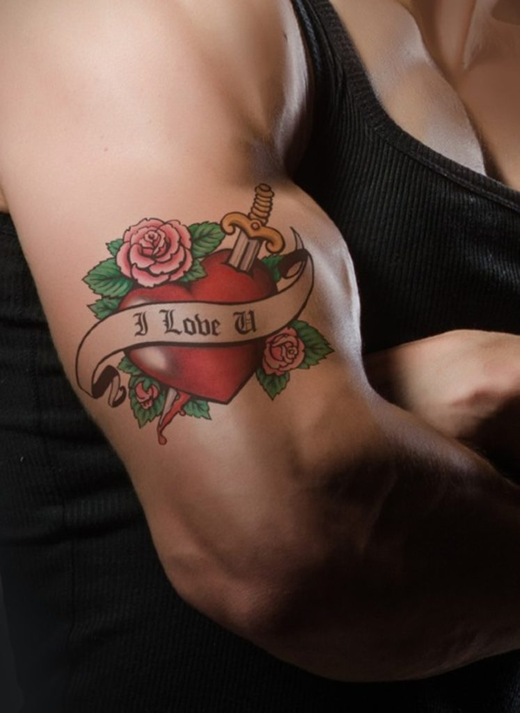 Nervous system switching from tattoos