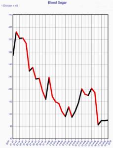 Insulin Resistance Blood Sugar Graph