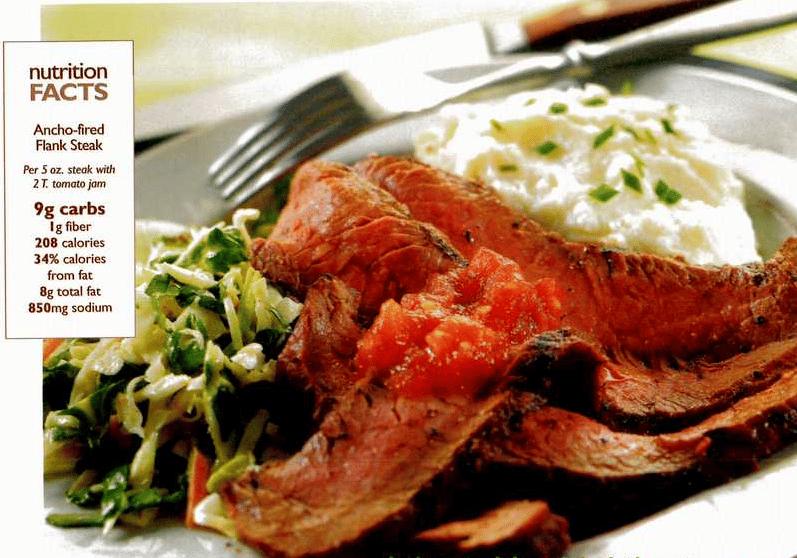 Ancho Fired steak